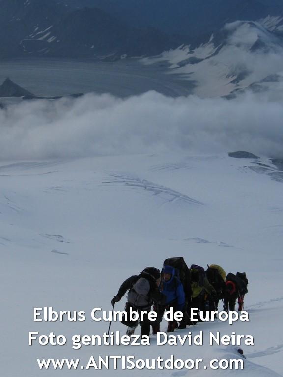 Expedición sudamericana al Elbrus