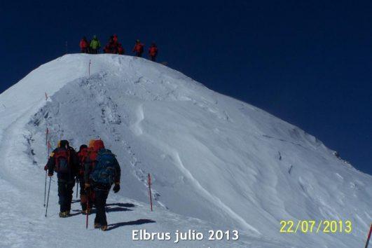 Elbrus, Siete Cumbres