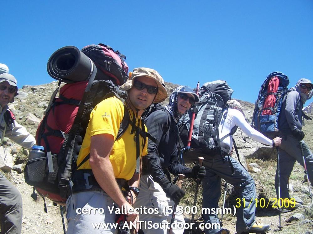 Vallecitos, montañismo en Mendoza
