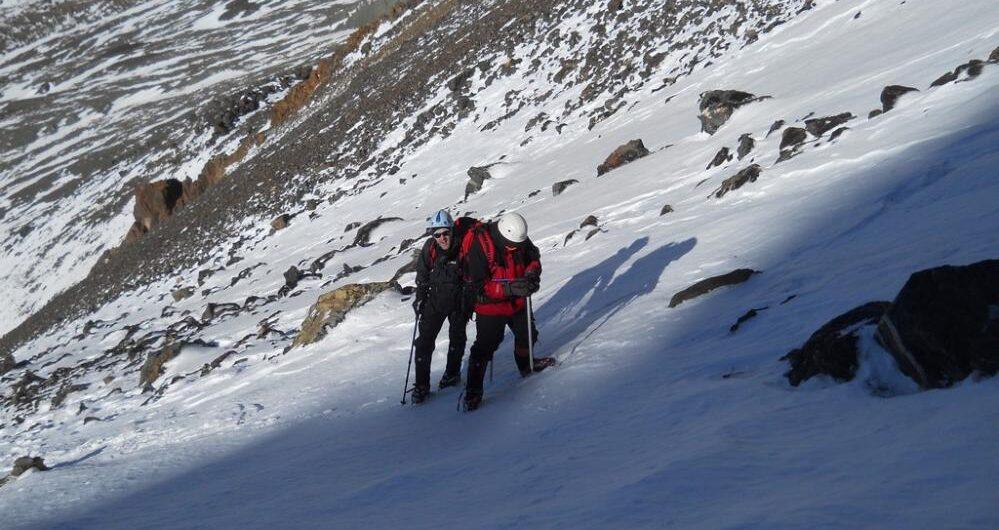 Stepanek y Adolfo Calle. Dos montañas en una misma expedición