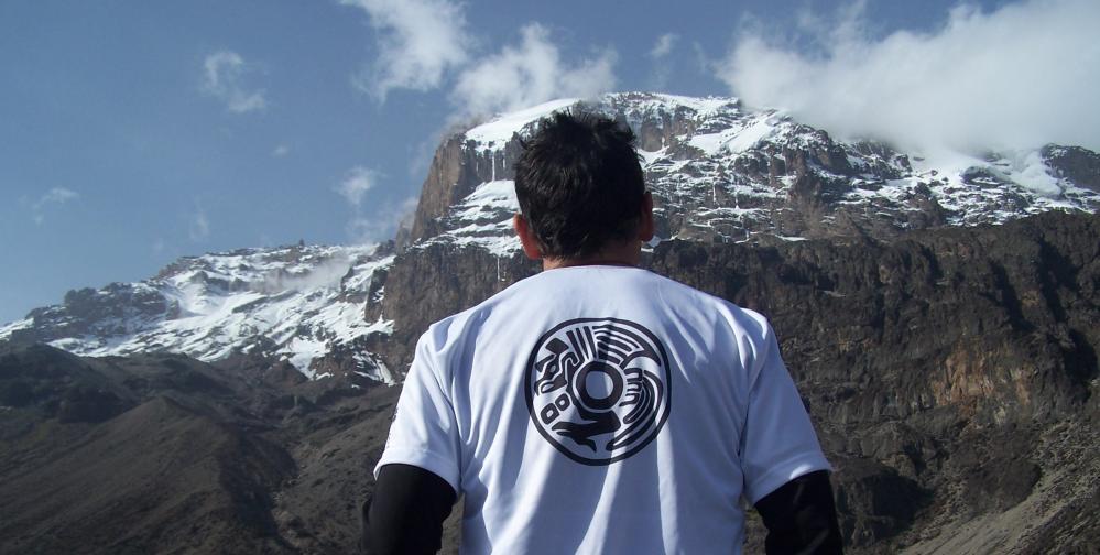 Kilimanjaro cume da África