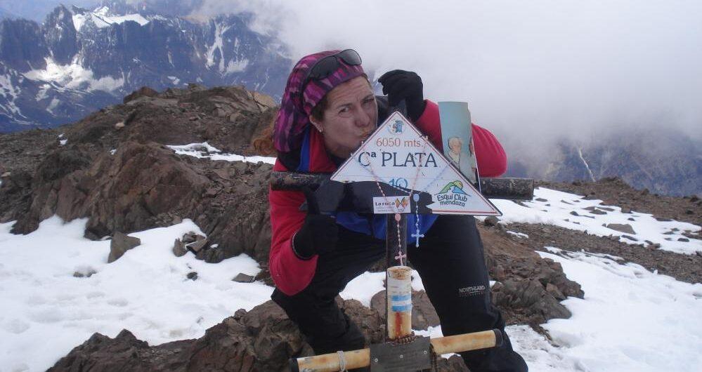 montañismo en Cuyo. Cerro Plata