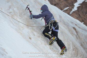 Cursos de escalada em gelo