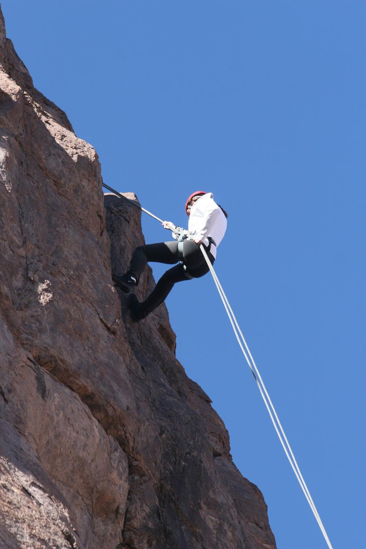 Escalada en roca en Mendoza