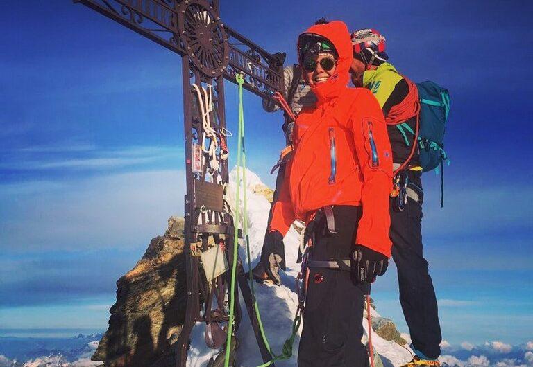 Matterhorn. Límite entre Suiza e Italia