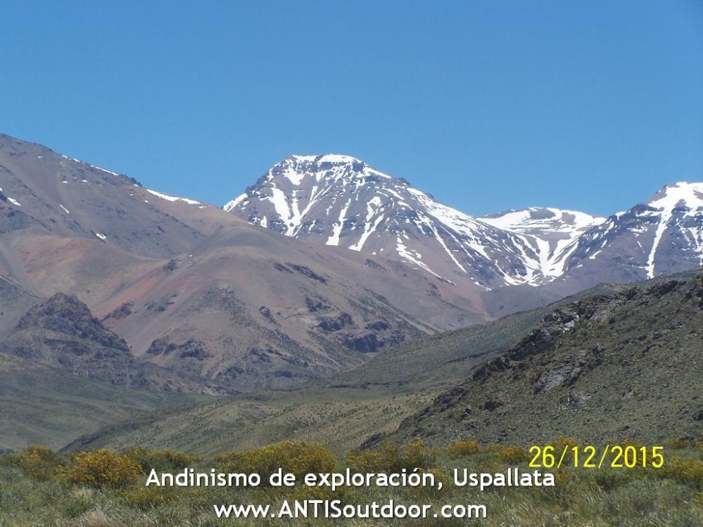 El Leoncito en junio en El Yalgüaraz Uspallata Mendoza