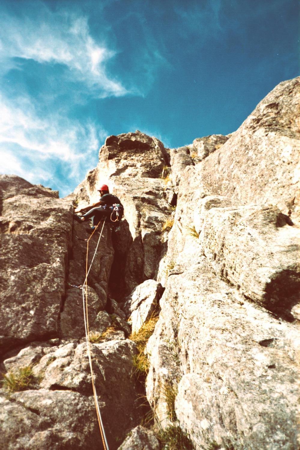 Escalada en roca en Los Gigantes
