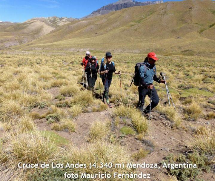 Travessia dos Andes. Trekking de Tunuyán, Mendoza para o Cajon del Maipo, Chile