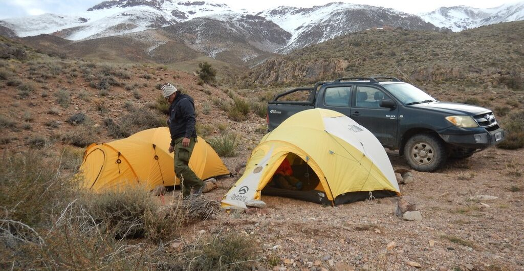 montañismo de exploración. cerro Tigrecito (4.100 m)