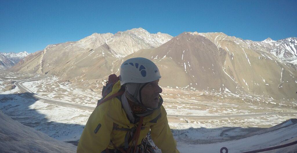 curso hielo de la escuela de montaña