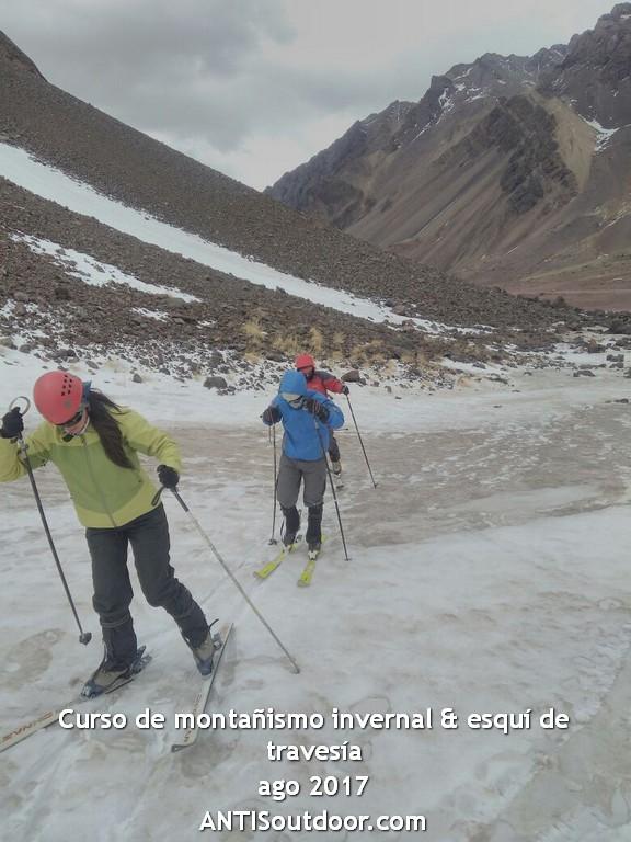 curso montañismo invernal y esquí de travesía