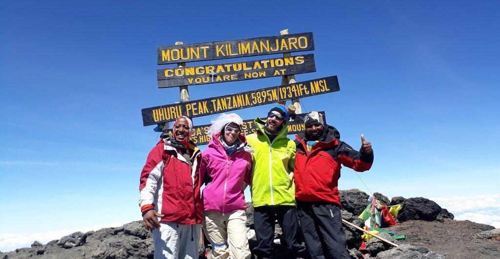 Kilimanjaro ruta Lemosho