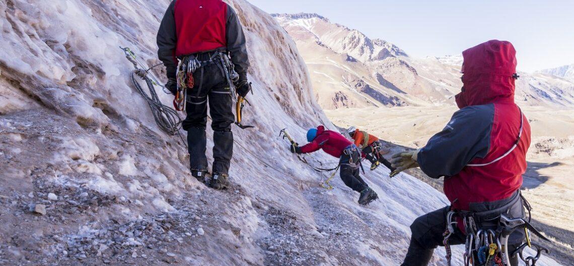 Cursos escalada en hielo