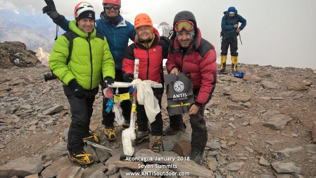 Aconcagua Andino en 2018 2019