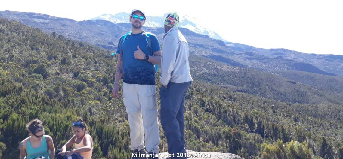 volcán Kilimanjaro