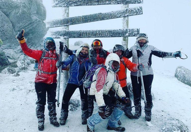 Kilimanjaro por mujeres 2019