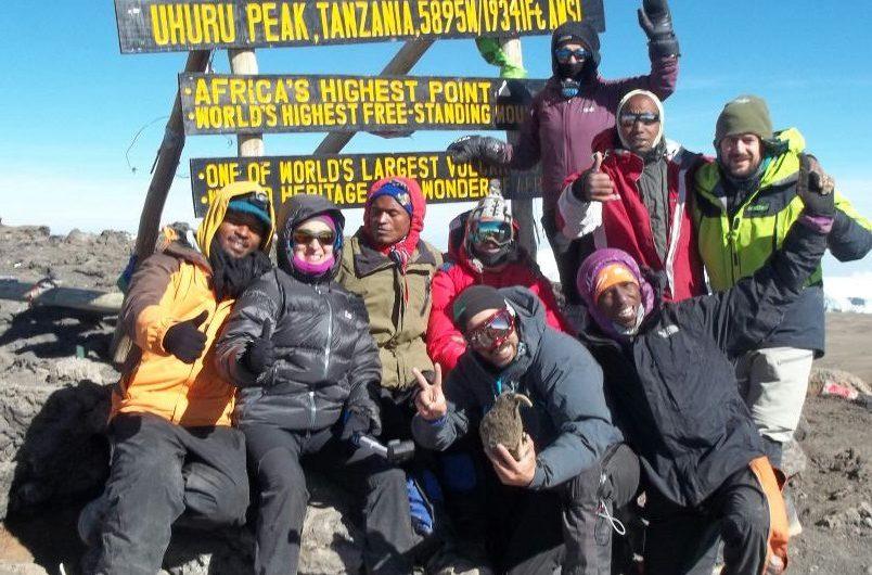 Kilimanjaro en febrero